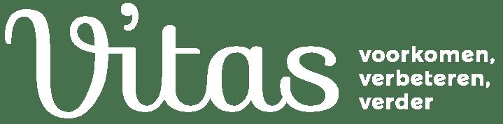 logo Vitas wit